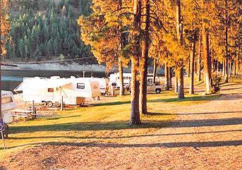 Conconully wa camping